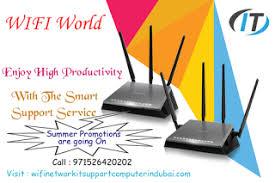 Installation Du etisalat Internet Technician Wifi Network support