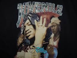 Juvenile Cash Money Vintage Hip Hop Rap Concert T Shirt