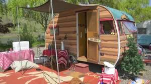 100 Restored Travel Trailer Vintage Camping Trailers On Display In Idaho Backcountry