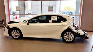 100 Craigslist Toledo Cars And Trucks Toyota Dealership Displays 2018 Toyota Camry That Got RearEnded By