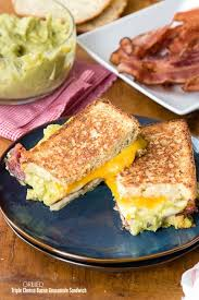 Pumpkin Guacamole Throw Up Cheese by Grilled Triple Cheese Bacon Guacamole Sandwich Boulder Locavore