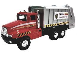 100 Waste Management Garbage Truck Amazoncom SF Toys Red Recycle Dept