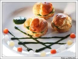 recette cuisine gastro recette gastronomique profiteroles d escargots au beurre d ail