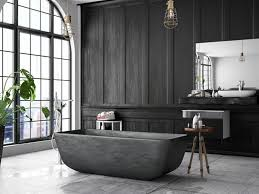 These Black Bathroom Ideas Will Inject Some Character And Secrecy To ... Creating A Timeless Bathroom Look All You Need To Know Adorable Home Shower Curtain For Dark Beautiful Spring Tension Ideas Floor 83 In With Small Brown Grey Tile Greatest Light Gray Aqua And Want Stunning Black Design For Nice Networlding Blog Classic Black And White Bathroom In 2019 Eaging Victorian Tiles Designs Modern 13 A More Manly Masculine Contemporist Cool Master Decoration Color