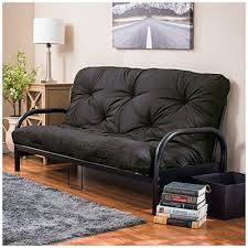 for the office room black futon frame with black futon mattress