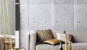 wohnzimmer minimalistisch gestalten mit modernen tapeten in