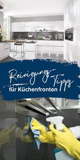 küchenfronten materialspezifisch richtig reinigen