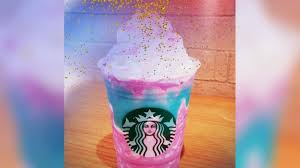 Whats Really Inside Starbucks New Unicorn Frappuccino