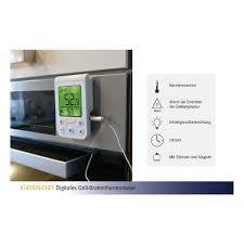 digitales grill bratenthermometer küchen chef tfa dostmann