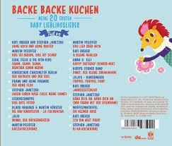 backe backe kuchen teil 2 meine 20 ersten baby lieder cd neu