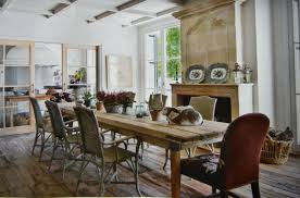 how to decorate a skinny dining table