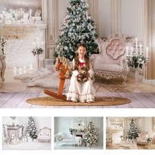 fotografie weihnachten hintergrund prächtigen wohnzimmer kamin foto hintergrund weihnachten baum familie kulissen