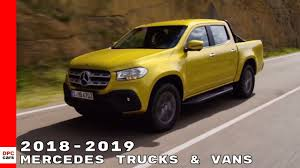 100 Commercial Truck And Van 20182019 Mercedes Vehicles YouTube
