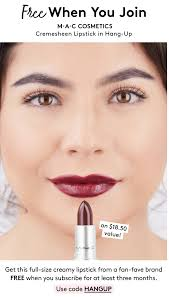 Birchbox Coupon - Free MAC Cosmetics Cremesheen Lipstick With 3-Month  Subscription! Makeup Geek Promo Code 2018 Saubhaya Mac Cosmetics Coupons Shopping Deals Codes Canada January 20 50 Off Elf Uk Top Patrick Starrr Dazzleglass Lip Color Various Holiday Bonus 2019 Faqs Beauty Insider Community Theres A Huge Sale With Up To 40 Limededition Birchbox X Christen Dominique Lipstick Review Swatches