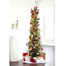 Slim Tree Classic 7 Ft 7ft Pencil Christmas Kingswood Fir Xmas Uvalue