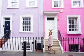 100 Notting Hill Houses Chelsea And A Colorful London Walking Guide The