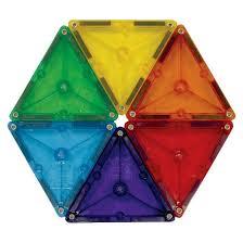 magna tiles皰 clear colors 37 set target