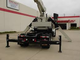 National 800D Boom Truck Mounting - Wheco