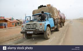 Truck Being Repaired Mongolia Central Asia Stock Photo: 16820720 - Alamy
