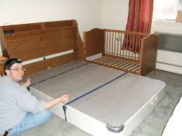 Co Sleepers That Attach To Bed by Crib Side Bed First Take One Side Off The Crib Our Crib Can Also