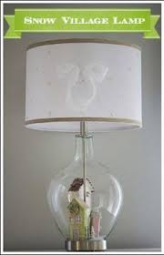 vintage clear glass fill able jar style lamp by buyoldschool