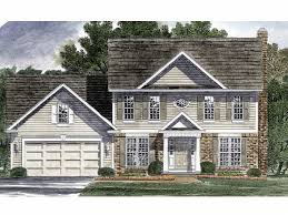 Pictures Small Colonial House by Colonial House Plans The House Plan Shop