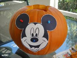 Mickey Mouse Pumpkin Stencils Free Printable by Free Pumpkin Templates Allow Families To Carve Disney Character
