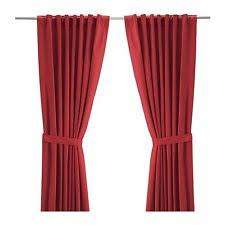 ikea contemporary 100 cotton curtains drapes valances ebay