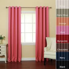 Noise Cancelling Curtains Walmart by Set Of Two Maytex Window Curtains Room Darkening White Bedroom