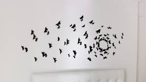 DIY Butterflies Wall Decor Idea How To Cut Paper Easy Crafts