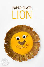 An Easy Lion To Make From A Paper Plate Great Way Work On
