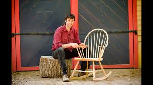 Building A Traditional Windsor Rocking Chair