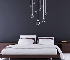 Wall Art Design Ideas Grey Wallpaper Bedroom Art Wall Unique