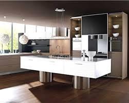 cuisine am駻icaine avec ilot central charmant modele de cuisine americaine avec ilot central avec modele