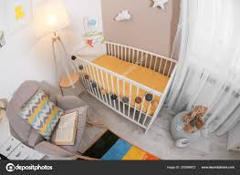 Cozy Baby Room Interior Crib Rocking Chair — Stock Photo ... White Glider Rocker Wide Rocking Chair Hoop And Ottoman Base Vintage Wooden Baby Craddle Crib Rocking Horse Learn How To Build A Chair Your Projectsobn Recliner Depot Gliders Chords Cu Small For Pink Electric Baby Crib Cradle Auto Us 17353 33 Offmulfunctional Newborn Electric Cradle Swing Music Shakerin Bouncjumpers Swings From Dolls House Fine Miniature Nursery Fniture Mahogany Cot Pagadget White Rocking Doll Crib And Small Blue Chair Tommys Uk Micuna Nursing And Cribs