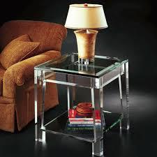 beistelltisch glas macht jedes zimmer schöner