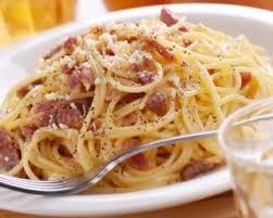 pates carbonara sans creme recette de spaghettis à la carbonara et parmesan sans crème