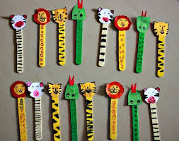 Recycled Ice Cream Sticks Kid Crafts Things For Art And Craft Ideas Kids With