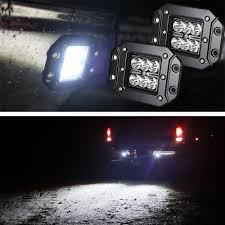 IJDMTOY 2PCS Dually Flush Mount 24W CREE LED Pod Lights For Jeep ... Poppap 300w Light Bar For Cars Trucks Boat Jeep Off Road Lights Automotive Lighting Headlights Tail Leds Bulbs Caridcom Lll203flush 3 Inch Flush Mount 20 Watt Lifetime 4pcs Led Pods Flood 5 24w 2400lm Fog Work 4x 27w Cree For Truck Offroad Tractor Wiring In Dodge Diesel Resource Forums Best Wrangler All Your Outdoor 145 55w 5400 Lumens Super Bright Nilight 2pcs 18w Led Yitamotor 42 400w Curved Spot Combo Offroad Ford Ranger