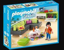 playmobil 5584 city modernes wohnen wohnzimmer neu