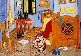 Coloriages Violetta écoute De La Musique Fr Hellokids Coloriage Tournesols Vincent Van Gogh