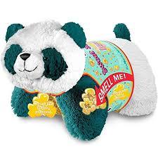 Pillow Pets Sweet Scented Pets Popcorn Panda Stuffed Animal P