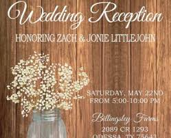 Reception Only Wedding Invitations With Adorable Invitation Cards Card Of Your Using Smart Design 15