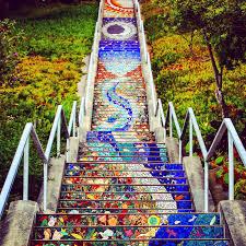 16th Ave Tiled Steps Project by 16th Avenue Mosaic Steps California Atrações California