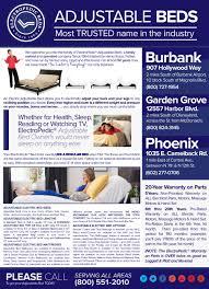 Houston TX Adjustable Beds Electric Ergo Motion Power Base