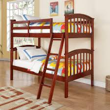 Colorado Stairway Bunk Bed by Donco Kids Columbia Twin Over Twin Mission Bunk Bed Hayneedle