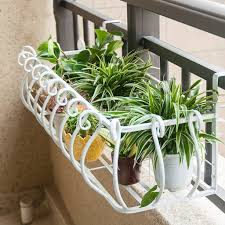 blumenständer eisen europäischer stil balkon geländer zaun
