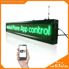 40inch Outdoor P10 Wifi Remote Control Led Sign Scrolling Advertising Message Display Board For Business And Store In LED Displays From Electronic