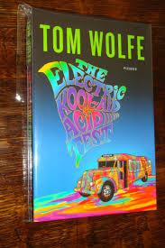 Tom THE ELECTRIC KOOL AID ACID TEST Signed Wolfe