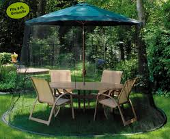 Offset Patio Umbrella W Mosquito Netting by Mosquito Netting For Patio Umbrella Black Home Outdoor Decoration